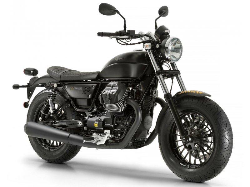 Moto Guzzi V9 850 bobber Bicilindrico MOTOCICLETA