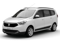 Dacia Lodgy dCi 79kW (107CV) 7Pl 2017 Laureate. OFERTA MATRICULA AGOSTO.